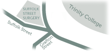 Suffolk Street Location